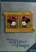 Disney Store 30th Anniversary Week 1 Mickey And The Pauper Le 7500 Pin