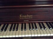 Kingsbury The Cable Company Chicago Antique Upright Piano 1913
