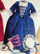 American Girl Felicity's Holiday Gown Retired In 2010 New In Box Rare No Doll