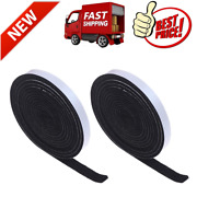 2 Pieces 19.7 Feet Bbq Gasket Smoker Grill Tape High Temp Grill Seal Thickness