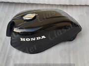 Honda Cb750 Cb 750 Cafe Racer Gas Fuel Petrol Tank Steel Black Painted 1978and039s