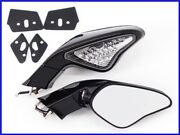 2007 Ducati 1098s Led Turn Signal Built-in Genuine Mirror Left And Right Set 13,66