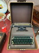 Vintage 1999 Smith Corona Sterling Typewriter With Case
