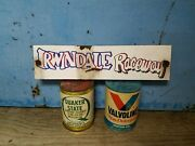 Irwindale 16x4 Speed Shop Barn Find Painted Vintage Look Gas Oil Hand Made Sign