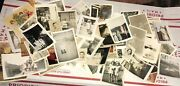 Vintage Black And White Photographs Lot Family Children Greeting Cards