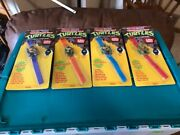 Teenage Mutant Ninja Turtles Tmnt First Issue Watches 1989 All Four New Neve