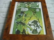 15by19 Framed Official Print Poster Comic Book Cover Art Green Lantern Arrow 76