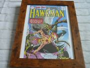 14by10 Framed Dc Official Print Poster Comic Cover Art Hawkman 42 Brave Bold