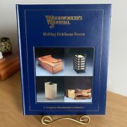 Woodworkers Journal Making Heirloom Boxes 2008 Hardcover New Crafting Wood