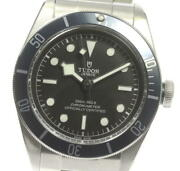 Tudor Heritage Black Bay 79230b Black Dial Automatic Menand039s Watch_599496