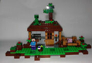 Lego 21115 Retired 2014 Minecraft The First Night Steveand039s House .