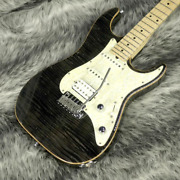 Suhr Pro Series S4 Trans Charcoal Electric Guitar