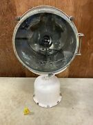 Carlisle And Finch 155bev-2 15 Halogen Incandescent Searchlight Used