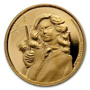 Niue - 2021 - 1/4 Oz Gold Proof Coin - Harry Potter - Hermione Granger