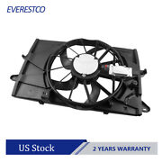 Radiator Condenser Cooling Fan Assembly For Ford Taurus Lincoln Mks Fo3115174