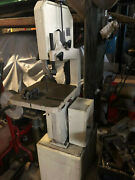 Jet J-8201k 14 In. 115v 1ph Vertical Metal And Wood Cutting Band Saw 414500 Used