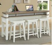 Parker House - Americana Console With 3 Stools - Ame09-4-cot