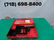 Hilti Dx36m And M62 Powder Actuated Nail Stud Gun Tool Works Great 3