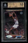 1998-99 Topps Stadium Club Vince Carter Rookie Bgs 9.5 Gem Mint First Day Issue