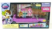 Littlest Pet Shop Pet Limo Animal Limo In Box With Glitzy Gately New Kids Gift