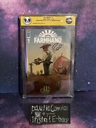 Farmhand 1 Egs 9.8 Signed Rob Guillory Htf Image Comic In Developement At Amc
