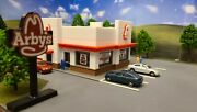 Ho Scale 187 Building/fast Food Restaurant/scratch Built/layout Ready