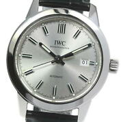 Ingenieur Iw357001 Date Silver Dial Automatic Menand039s Watch_599804
