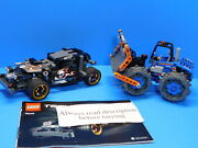 Lego Technic Lot 42046 Getaway Racer And 42071 Dozer Compactor Sets