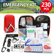 Emergency Survival Gear Kit Outdoor Sos Hiking Hunting Camping Tactical Supplies