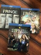 Fringe - The Complete First Second And Third Season Blu-ray Disc2009 5-disc