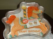 Vintage Wilton Carousel Horse Cake Pan//mold Picture And Instructions 2105-6507
