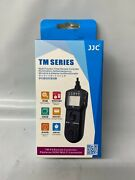 Jjc Tm-f2 Multi-function Timer Remote Controller Replaces Sony Multi Connector