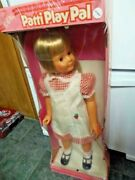 Ideal Patti Playpal Doll Vintage New Old Stock Play Pal Doll