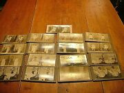 Rare Lot Of 17 Antique Victorian Risque Ladies Stereo View Cards 2