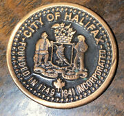 City Of Halifax 75th Anniversity Of Halifax Explosion Challenge Coin 1917-1992