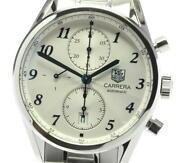 Tag Heuer Carrera Cas2111 Chronograph Silver Dial Automatic Menand039s Watch_601218