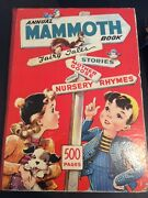 Childrens Antique Books Lot Of 2 Illustrated Collectible Mammoth And Whopper Books