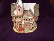 Lefton Colonial Christmas Village 00716 The Kirby House 1992 3113