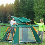 Large Size Uv Waterproof Double Layered Automatic Camping Tent. 360 D Protection