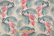 4 Drapes Tommy Bahama Orchid Blooms Similar To Barkcloth Designs 40and039s Genre