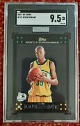 2007-08 Topps Kevin Durant Rookie Rc Mba Silver Sgc 9.5 Gem Mint Psa Bgs Comps