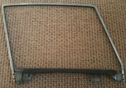 1956-1962 Corvette Lh Door Glass Frame And Lower Channel 1957 1958 1959 1960 1961
