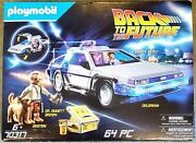 Playmobil 70317 Back To The Future Delorean Playset Bnib 🆕️ Factory Sealed 🏭