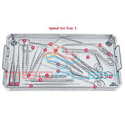 Basic Spinal Instrument Set Of 28 Pieces Of Surgical Neurosurgical Instruments