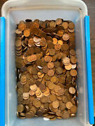 Lincoln Wheat Cent Bag All 1955-s 5000 Coins Nice High Grade Coins