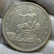 1874 Cc Trade Dollar Xf+ Clnd Very Decent Coin Great Type Set
