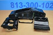 2014 W218 Mercedes Cls63 Amg Center Console Shifter Trim And Storage Bin Assembly