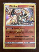 2019 Pokemon Team Up Staff Prerelease Promo Sealed Pack With Charizard