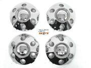2008 Ford F150 22andrdquo Harley Davidson Wheel Center Hub Cap Chrome Set W/ Logo Oem