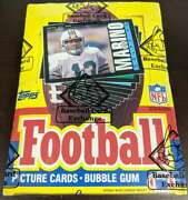 1985 Topps Football Unopened Bbce Sealed 36 Pack Box Authentic 62210